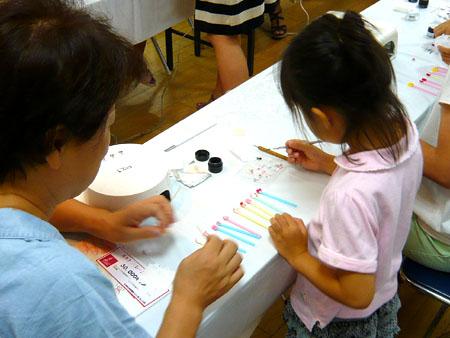 ルキナ ネイル教室,松菱キッズネイル,子供ネイル教室,松菱夏休みイベント,キッズジェルネイル